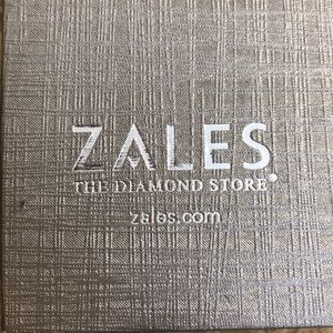 Zales white gold ring